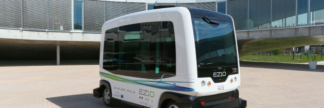 The WEpod is the First Driverless Vehicle to Take Public Roads